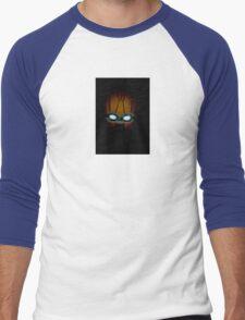 robot in the dark Men's Baseball ¾ T-Shirt