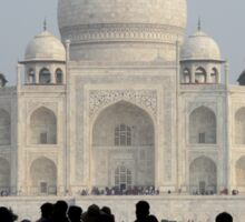 Taj Mahal Through The Gate Sticker