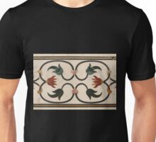 Taj Mahal Marble Inlay Unisex T-Shirt