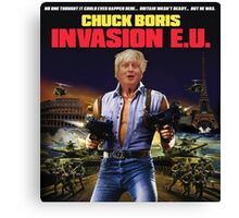 Boris Johnson - Chuck Boris T-Shirt Canvas Print