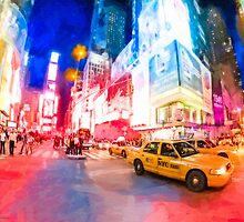 NYC Times Square - A Slice Of The Big Apple by Mark Tisdale
