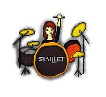 Jen Ledger - Skillet by rachel4reading