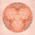 Rose Quartz Mandala by Gail S. Haile