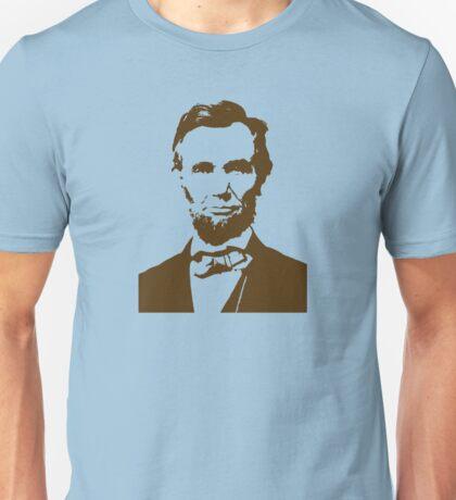 Abraham Lincoln Portrait Unisex T-Shirt