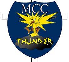 MCC Thunder - Zapdos by MisterJfro