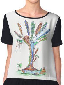 Tree of Life 5 Chiffon Top