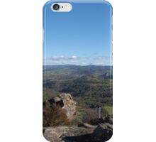 Standing on Lookout! Hassans Walls, Lithgow, Blue Mountains. N.S.W.  iPhone Case/Skin