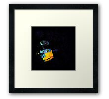 Wall-E in Space! Framed Print