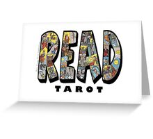 Be Well Read - READ TAROT Greeting Card