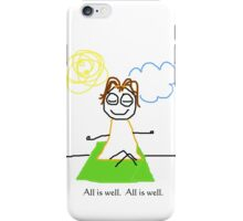 "Jenny Quips:  ""All is Well"" iPhone Case/Skin"