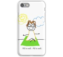 """Jenny Quips:  """"All is Well"""" iPhone Case/Skin"""