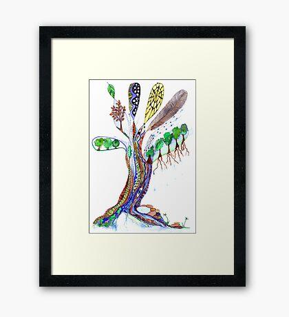 Tree of Life 6 Framed Print