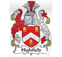 Highfield Coat of Arms (English) Poster