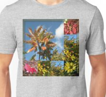 Colours of Autumn in Mirrored Frame Unisex T-Shirt