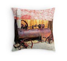 """""""Steam Tractor""""  Virginia City, Nevada USA Throw Pillow"""