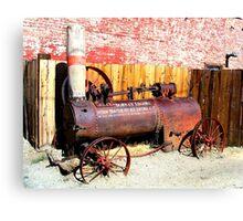 """Steam Tractor""  Virginia City, Nevada USA Canvas Print"