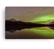 Dark Skies with a Hint of Green Canvas Print