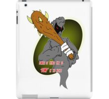 Ditto Brother of Death iPad Case/Skin