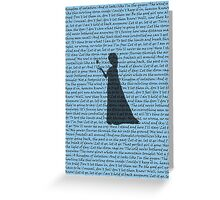 Let It Go Greeting Card