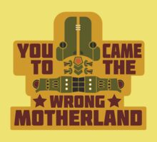 Cherno Alpha: Wrong Motherland Kids Tee