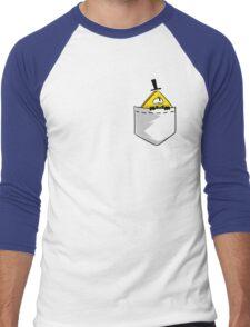 Pocket Cipher Men's Baseball ¾ T-Shirt