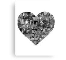 I Heart Disney Canvas Print