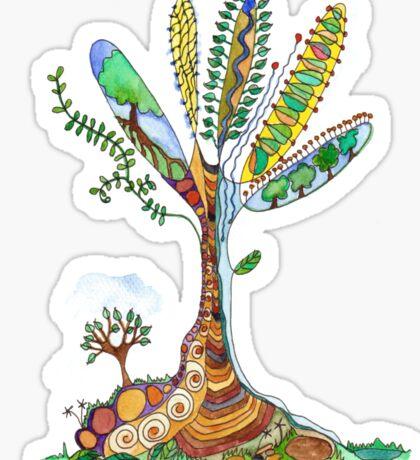 Tree of Life 9 Sticker