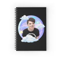 Dan Howell Space Pixel Edit Spiral Notebook