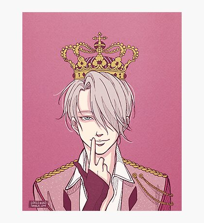 The Russian Ice King Photographic Print