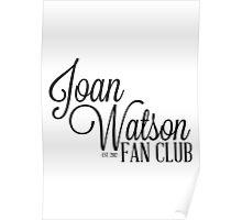Joan Watson Fan Club Poster