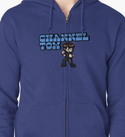Channel Tom - Scott Pilgrim Style Zipped Hoodie