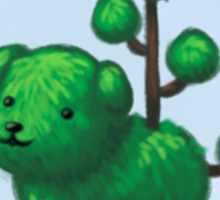 Topiary Dog Sticker