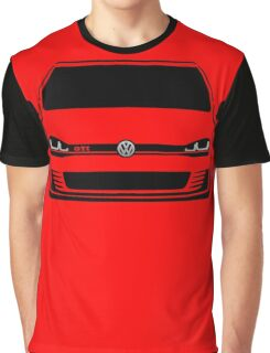 MK7 Golf GTI Front Graphic T-Shirt
