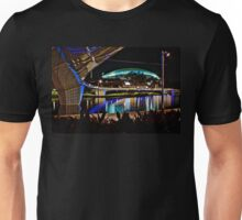 The Portress, the new Adelaide Oval by night Unisex T-Shirt
