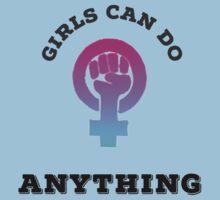Girl Power II Kids Tee