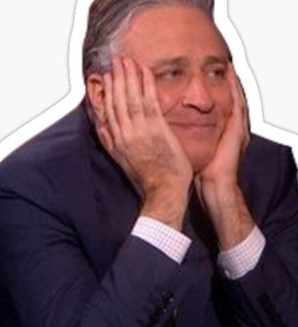 Jon Stewart - The Daily Show Sticker