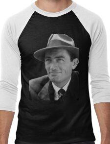 Gregory Peck - Vintage Photo Men's Baseball ¾ T-Shirt