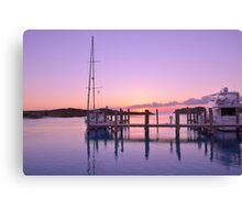 Sundown Serenity Canvas Print