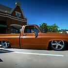 Squarebody Lowrider... by mal-photography