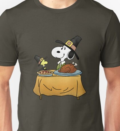 Snoopy Thanksgiving Unisex T-Shirt