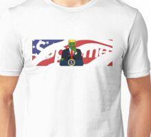 Supreme x Donald Trump Pepe Parody Collab American Flag Box Logo  Unisex T-Shirt