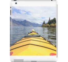 Kayaking in New Zealand iPad Case/Skin