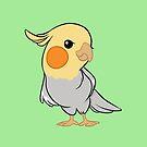 Sweet Cockatiel by tobiejade