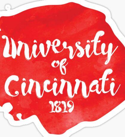 University of Cincinnati Sticker