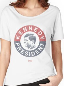 Vintage 1960 Kennedy for President T-Shirt Women's Relaxed Fit T-Shirt