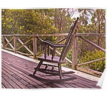 Home Among the Gumtrees and An Old Rocking Chair Poster