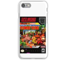Donkey Kong Country Poster iPhone Case/Skin