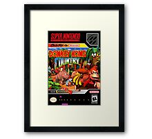 Donkey Kong Country Poster Framed Print