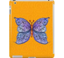 The Cosmic Purple Butterfly iPad Case/Skin