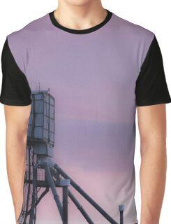 Silo Sunset Graphic T-Shirt